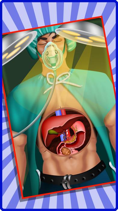 肝脏手术 - 操作的患者在这家医院护理游戏的孩子