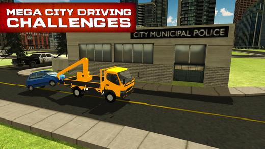 城市拖车模拟器和真实卡车模拟
