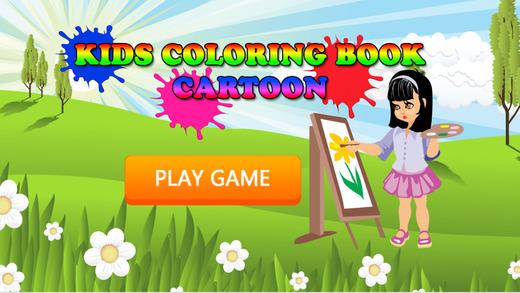 免费儿童图画书 - 可爱的卡通学习的乐趣