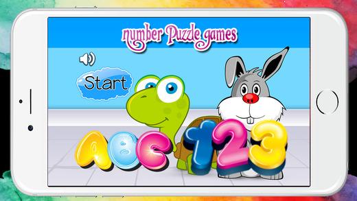 數量和ABC字母拼圖免費幼兒園