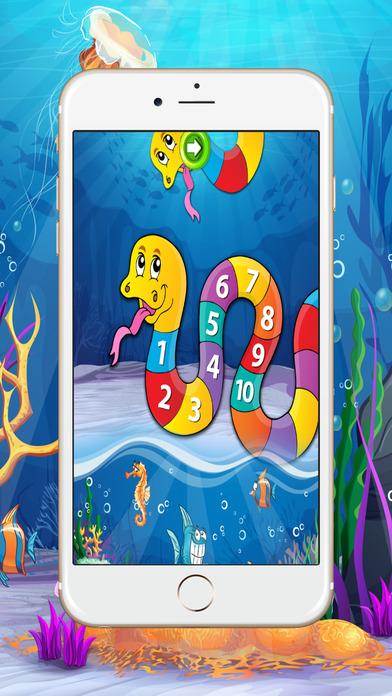 数学学习游戏:数字和计数的孩子