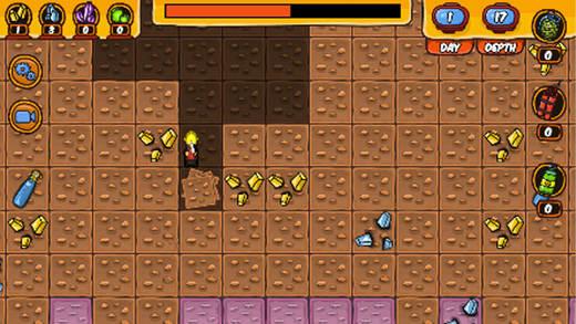疯狂矿工 - 最新寻宝游戏