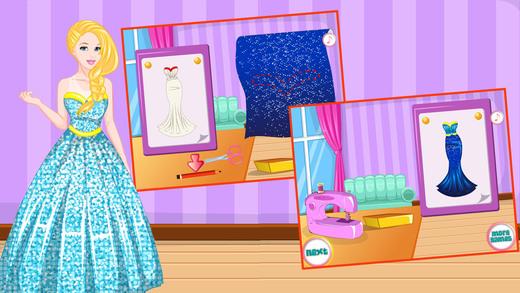 时尚美女裁缝