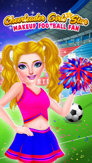 足球啦啦队女孩明星