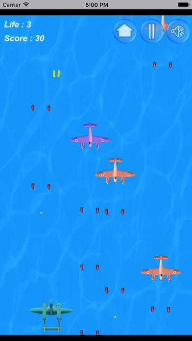战机救援激烈模拟空战小游戏