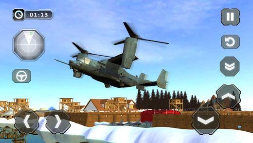 美国军用运输模拟器和飞行模拟器