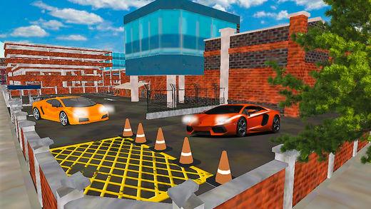 拉斯维加斯城市停车场游戏