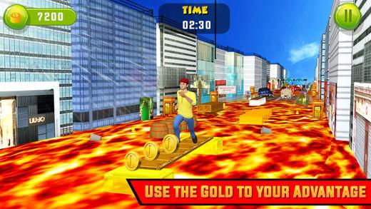 路是熔岩惊人的真正的挑战游戏