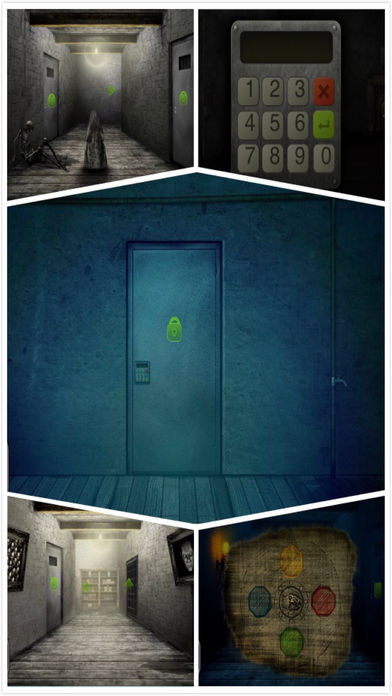 未上锁的房间 :首款无声恐怖密室生存逃脱游戏口袋版