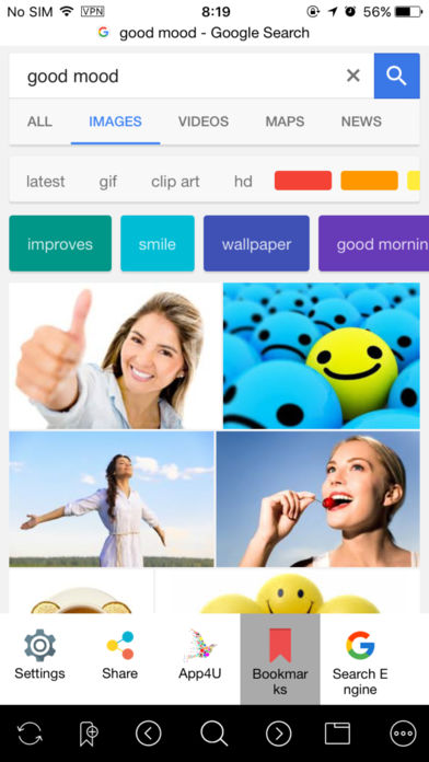 Gimso网页浏览器