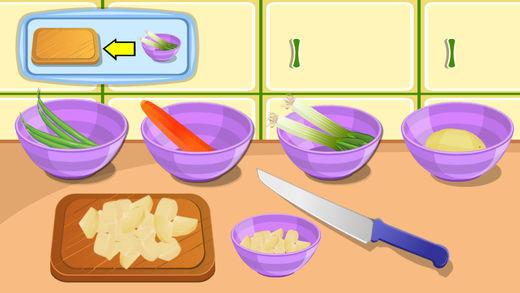 健康的蔬菜汤烹饪