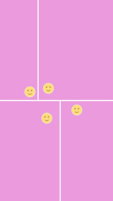 分开表情符号笑脸亲