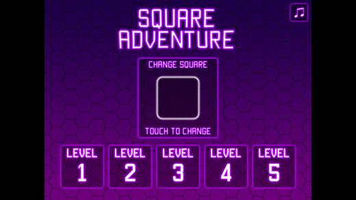方块世界大冒险躲避障碍的动作小游戏