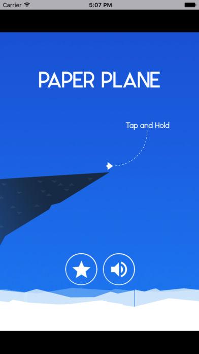 纸飞机翻山越岭