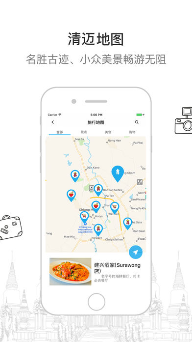 清迈一游 ——泰国旅行旅游地图攻略