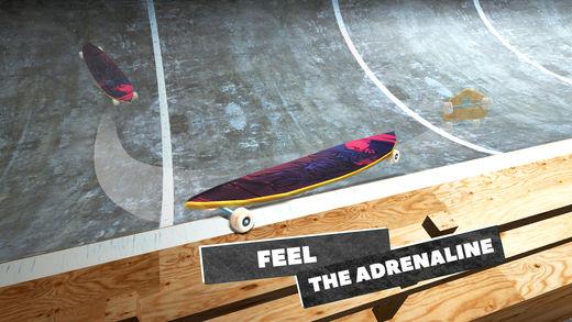 真正触摸研磨溜冰比赛3D