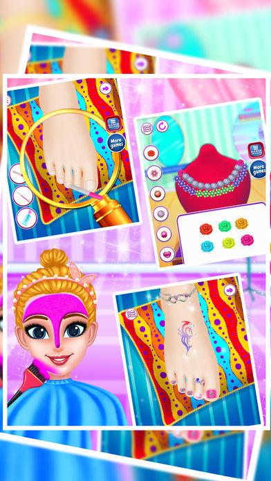 公主沙龙及化妆