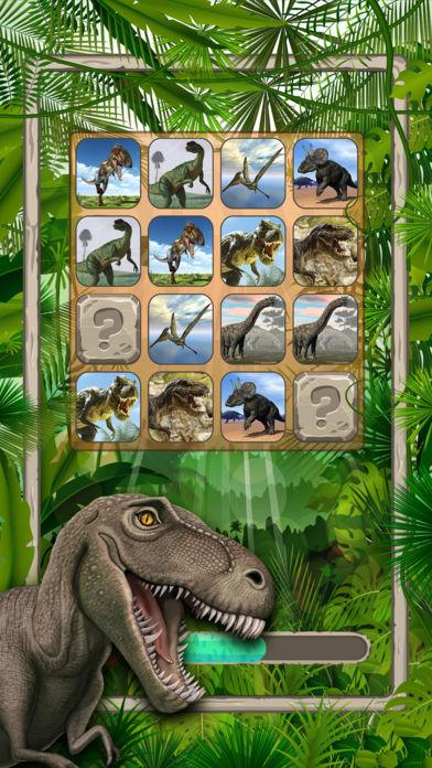 恐龙 : 配对游戏
