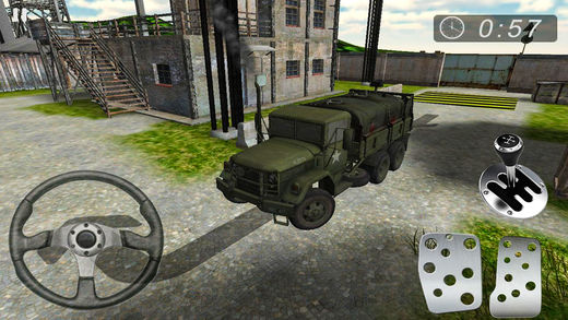 军队 基础 营 停车处