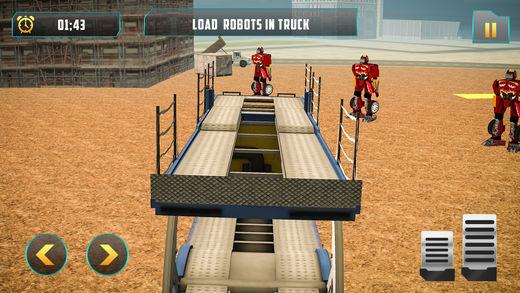 巡洋舰机器人运输