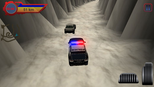 贼 汽车 VS 警察 汽车 :3D
