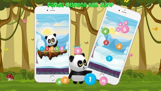 熊猫 跳跳 数 球