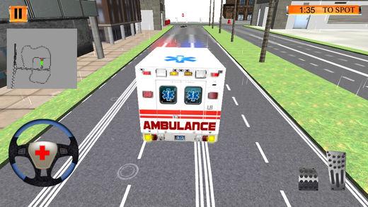 急 救护车 拯救 &火 战斗机