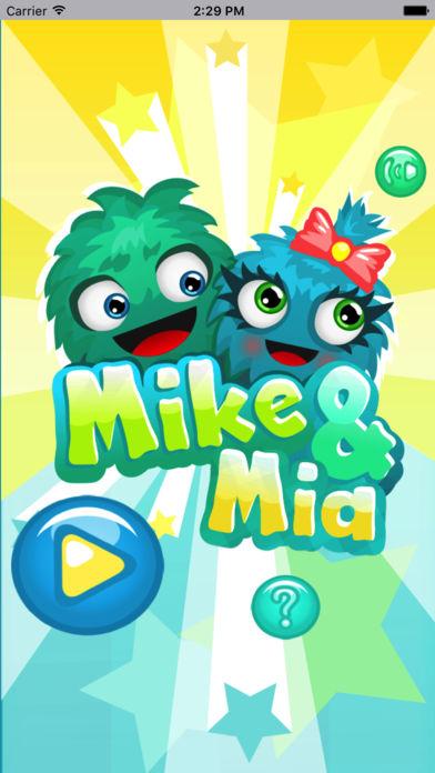 麦克和米娅-益智类闯关小游戏