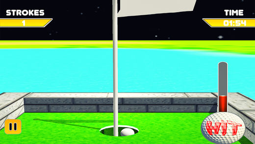 动画片 微型 高尔夫球 复古