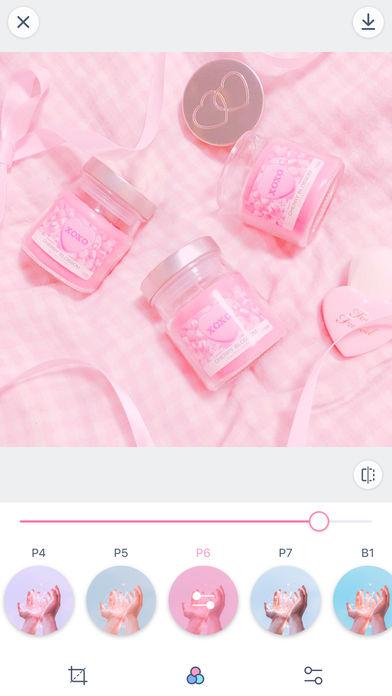 PinksCam-一款既粉红又少女的软妹相机