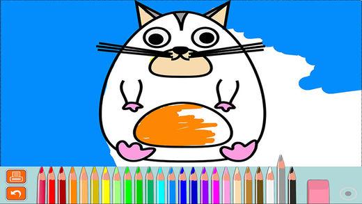 儿童绘画游戏-幼儿宝宝学画画游戏