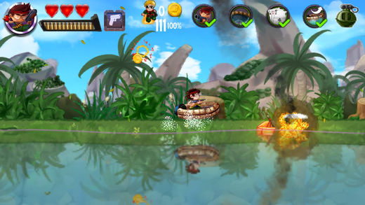 海盗奇兵跑酷-我的快艇游戏