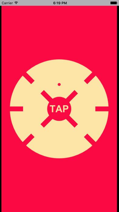 旋转的小红点