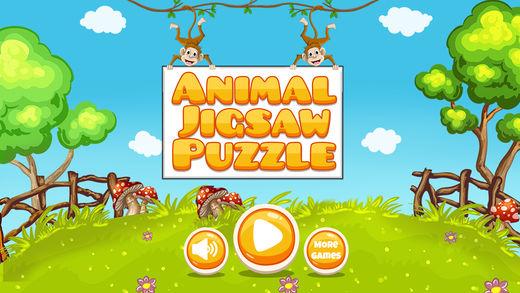 动物园动物拼图