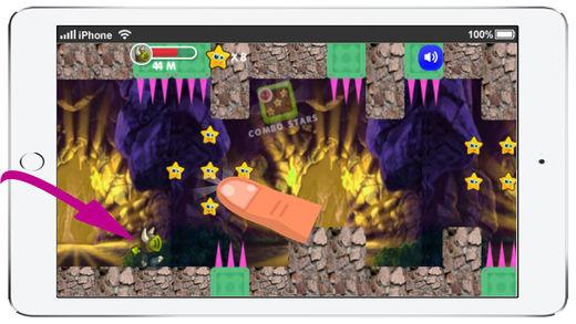 洞穴游戏 冲刺