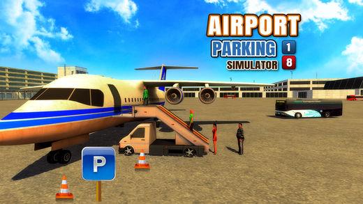 飞机停机场机场2018