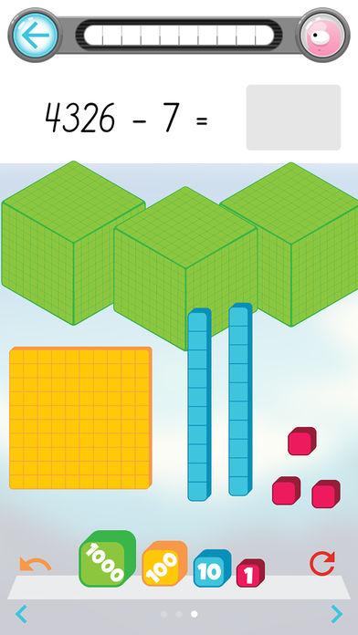 数学怪兽 减法