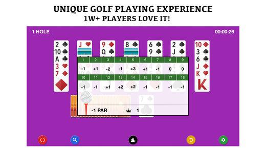 高尔夫接龙 桌面游戏