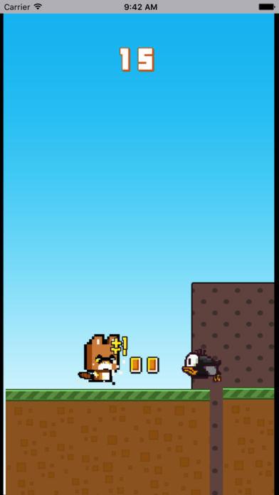 浣熊跳跃跑酷