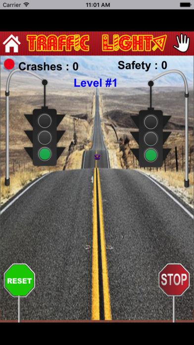 红灯大考验-考验反应力的敏捷类游戏