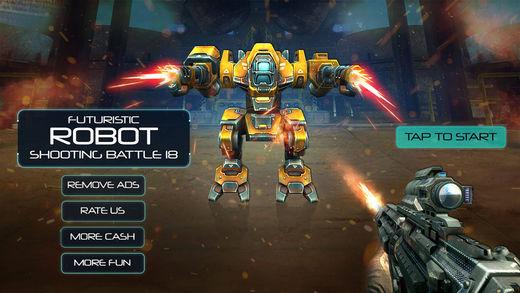 未来机器人射击战18
