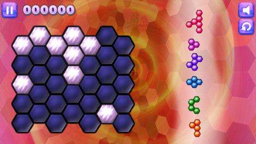 闪耀的六边形-经典的益智类小游戏