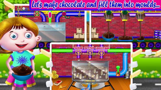 孩子的巧克力工厂: Choco 酒吧厨师