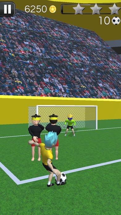 犯规和进球足球