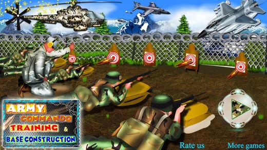陆军突击队训练基地建设