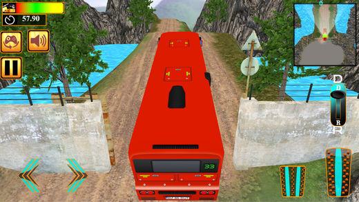 山路冒险路公共汽车
