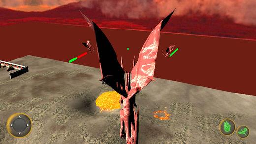 游戏 的 飞行 龙 模拟器
