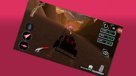 3D死亡赛车
