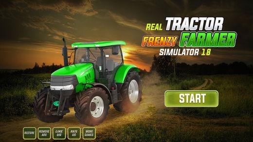 真正的拖拉机疯狂农民模拟器18
