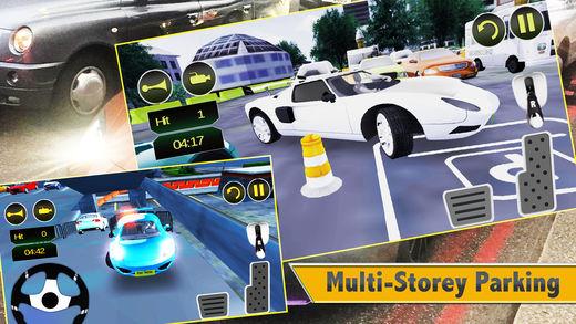 城市停车场专业:学习驾驶狂热